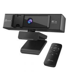 j5Create - USB™ 4K ULTRA HD Webcam with 5x Digital Zoom Remote Control